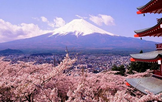 Mount Fuji is famous